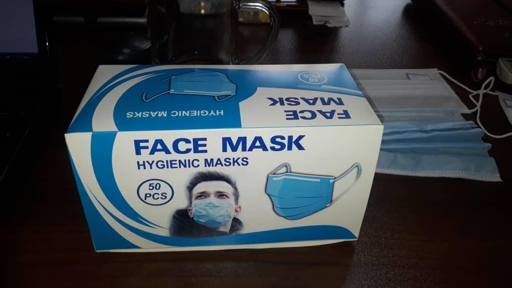 ماسک سه لایه